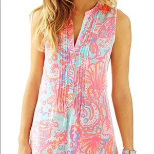 Lilly Pulitzer Sarasota Tunic Dress Sz XS